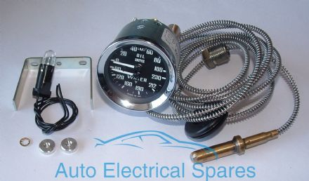 SMITHS mechanical dual oil / water gauge BHA4737